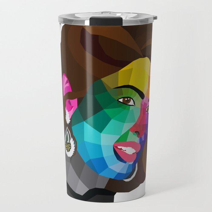 Priyanka Chopra - popart portrait Travel Mug