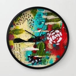 Primal by Artsee Spree Wall Clock