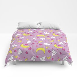 Usagi's Pattern Old Style Comforters
