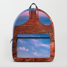 Westward Dreams - Sunset in Monument Valley Backpack