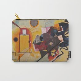 Wassily Study Repro yellow red blue 1925  Carry-All Pouch
