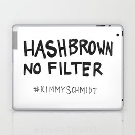 Hashbrown No Filter Laptop & iPad Skin