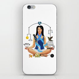 The Chronic Illness Warrior (CFS/ME) iPhone Skin