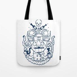 Captain Badass Tote Bag