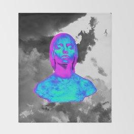 Digital Renaissance Throw Blanket