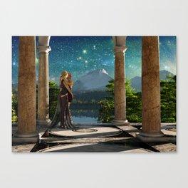 Romance on Taralia Canvas Print