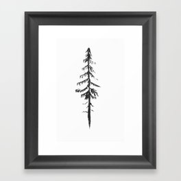 Hunger of the Pines Framed Art Print