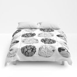 Silver fruits Comforters