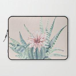 Aloe Cactus Rose Pink Laptop Sleeve