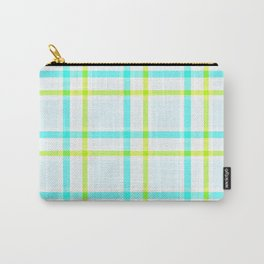 Summery Plaid Carry-All Pouch