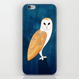 Barn owl (Tyto alba) iPhone Skin