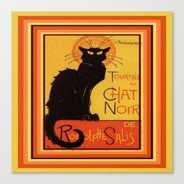 Tournee Du Chat Noir - After Steinlein Canvas Print