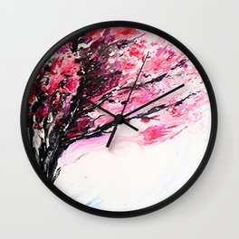 Cherry Tree Wall Clock