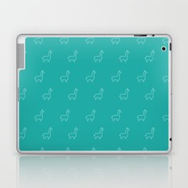 Baesic Llama Pattern (Teal) Laptop & iPad Skin