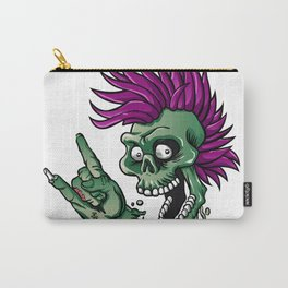 Punk zombie Carry-All Pouch