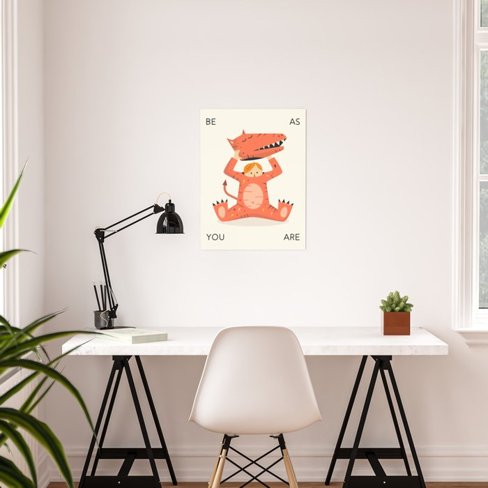 BE AS YOU ARE Poster