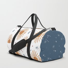 sunbursts & celestial moments Duffle Bag
