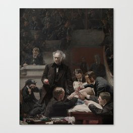 Thomas Eakins - Portrait of Dr Samuel D Gross (The Gross Clinic) Canvas Print