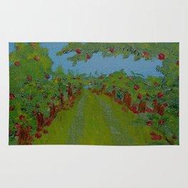 Apple Trees Rug