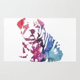 Dog paint Rug