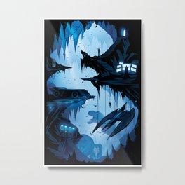 Bat Cave Metal Print