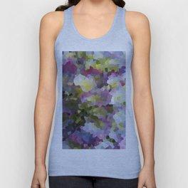 Crystallized Purple Hydrangea Unisex Tank Top