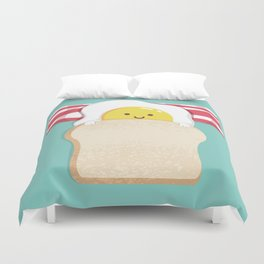 Morning Breakfast Duvet Cover