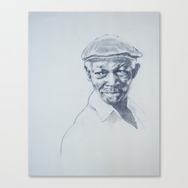 Ibrahim Ferrer de mi corazón Canvas Print