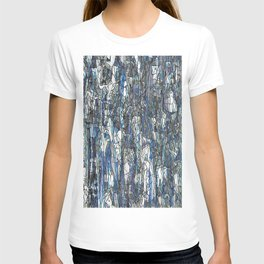 Abstract blue 2 T-shirt