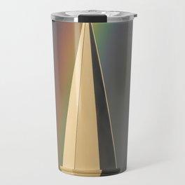 Rainbow & Steeple (Just outside my window) Travel Mug