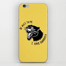 Panther Poop iPhone Skin