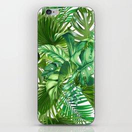 green tropic iPhone Skin