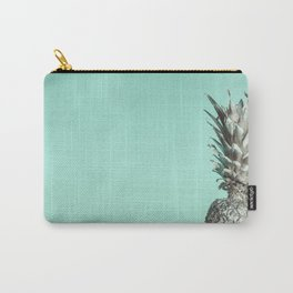 Silver Mint Pineapple Carry-All Pouch
