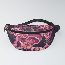 selective focus photography of beautiful flower Fanny Pack