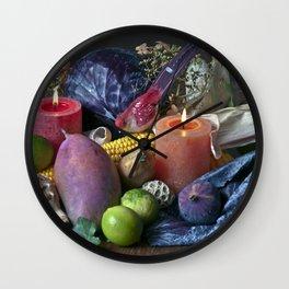 AUTUMNAL SOUND Wall Clock