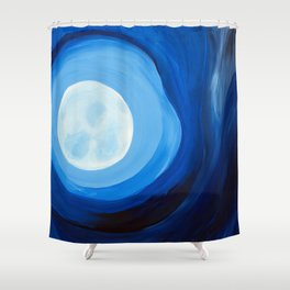 The Night I Walked Alone Shower Curtain