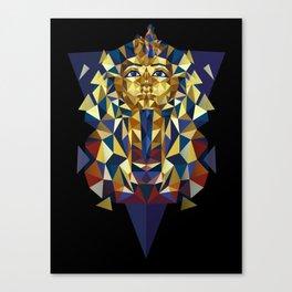 Golden Tutankhamun - Pharaoh's Mask Canvas Print