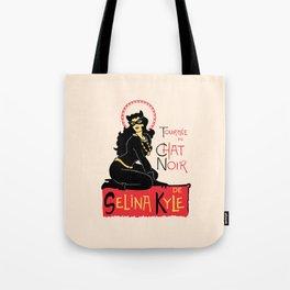 Black Cat Selina Tote Bag