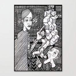 >> Knowledge_ Canvas Print