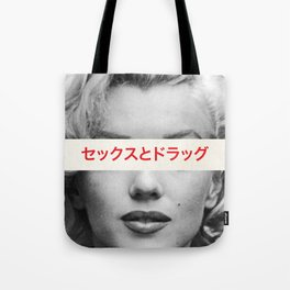 Sex, Drugs & Alcohol Tote Bag