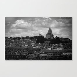 PARISIAN GLOOM Canvas Print
