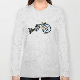 Bone Fishish 4C Long Sleeve T-shirt
