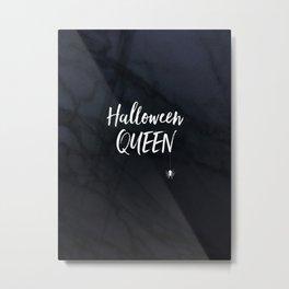 Halloween Queen Metal Print