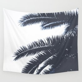Palm Tree leaves abstract III Wall Tapestry