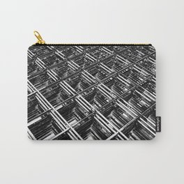 Rebar On Rebar - Industrial Abstract Carry-All Pouch