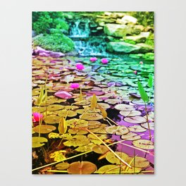 Down By The Riverside Canvas Print