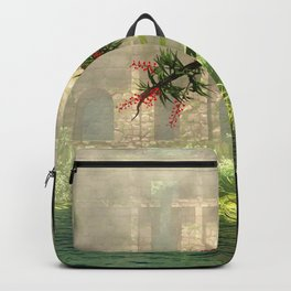 Lost City in the jungle Backpack