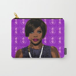 """TV Queens - Annalise Keating  """"Messing with the Wrong Bitch"""" HTGAWM Carry-All Pouch"""