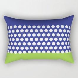 Polka Sky Rectangular Pillow