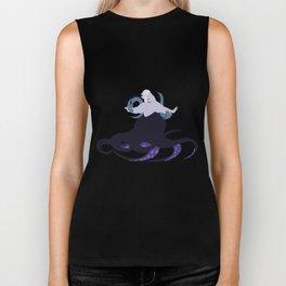 Ursula and her eels Biker Tank